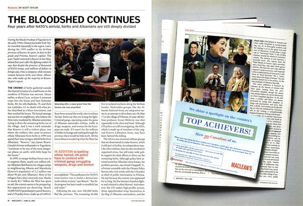 Article Preview: THE BLOODSHED CONTINUES, June 2003 | Maclean's