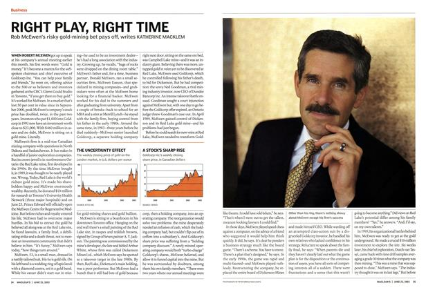 Article Preview: RIGHT PLAY, RIGHT TIME, June 2003 | Maclean's