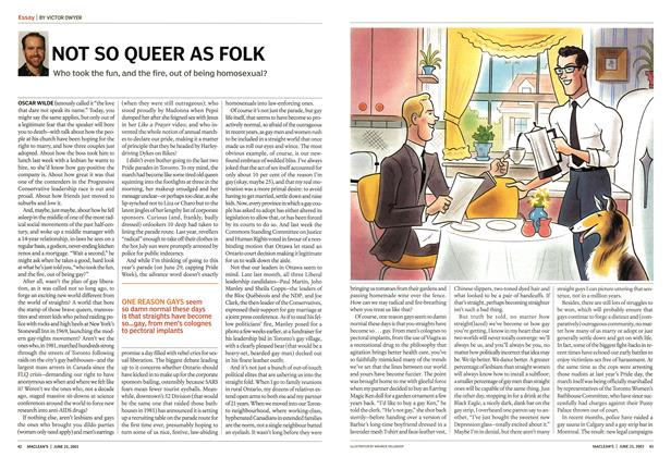 Article Preview: NOT SO QUEER AS FOLK, June 2003 | Maclean's