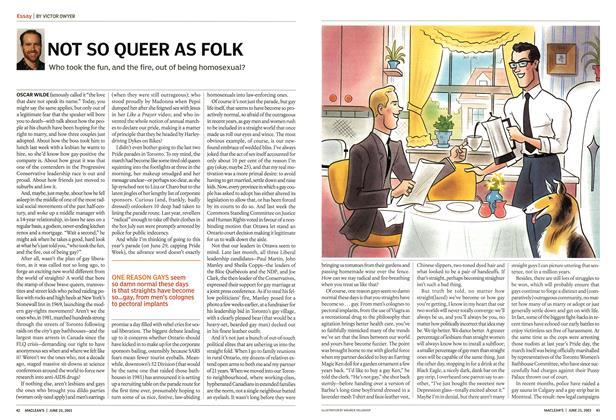 Article Preview: NOT SO QUEER AS FOLK, June 2003 | Maclean's