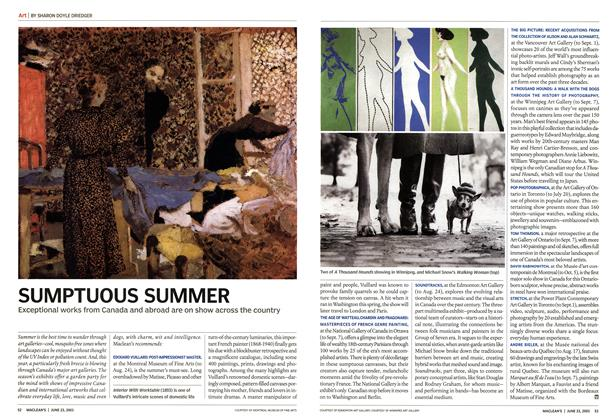 Article Preview: SUMPTUOUS SUMMER, June 2003 | Maclean's
