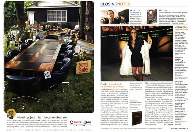 Article Preview: People, June 2003 | Maclean's