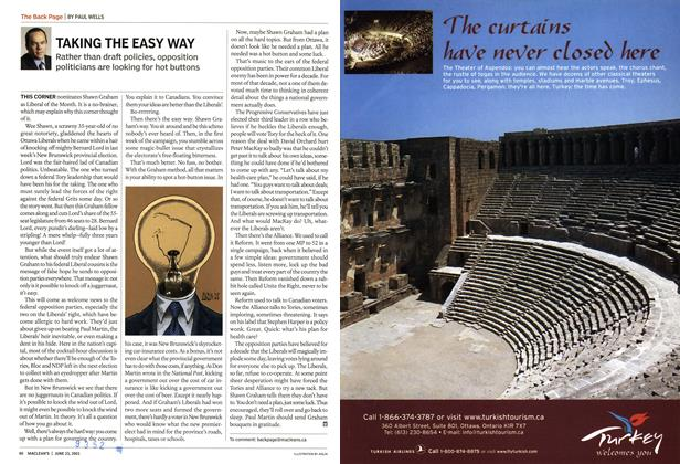 Article Preview: TAKING THE EASY WAY, June 2003 | Maclean's