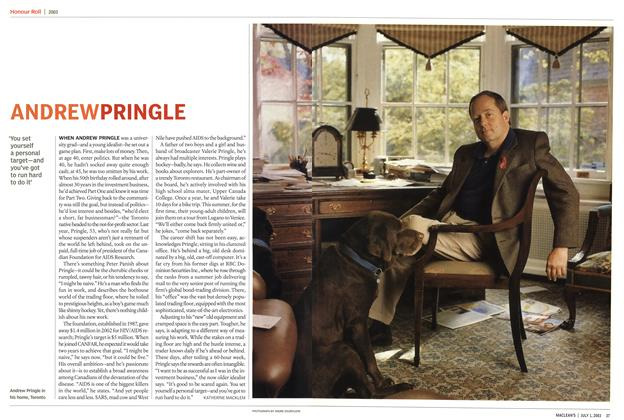 Article Preview: ANDREW PRINGLE, July 2003 | Maclean's