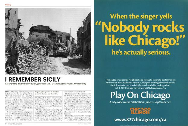 Article Preview: I REMEMBER SICILY, July 2003 | Maclean's