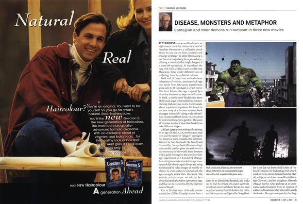 Article Preview: DISEASE, MONSTERS AND METAPHOR, July 2003 | Maclean's