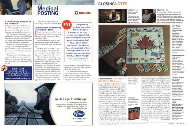 Article Preview: Canadianisms, July 2003 | Maclean's