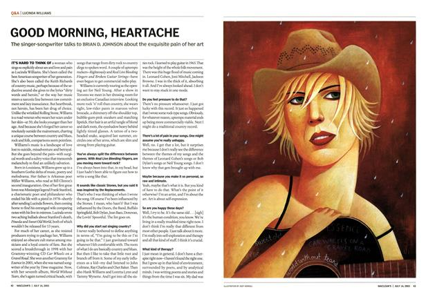 Article Preview: GOOD MORNING, HEARTACHE, July 2003 | Maclean's