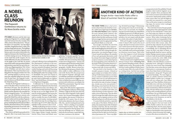 Article Preview: ANOTHER KIND OF ACTION, July 2003 | Maclean's