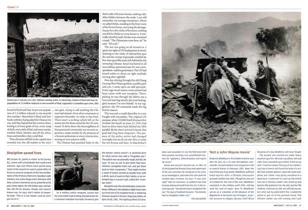 Article Preview: 'Not a John Wayne movie', July 2003 | Maclean's