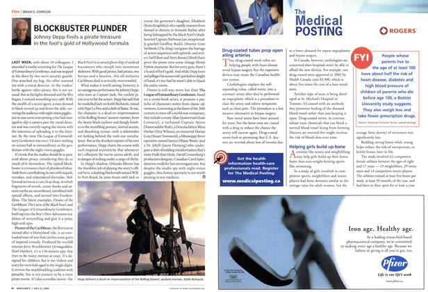 Article Preview: BLOCKBUSTER PLUNDER, July 2003 | Maclean's