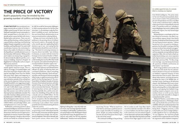 Article Preview: THE PRICE OF VICTORY, July 2003 | Maclean's