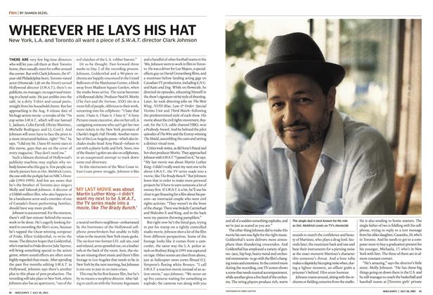 Article Preview: WHEREVER HE LAYS HIS HAT, July 2003 | Maclean's