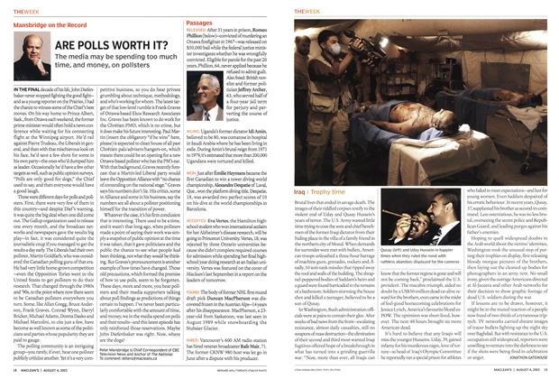 Article Preview: Iraq, August 2003   Maclean's
