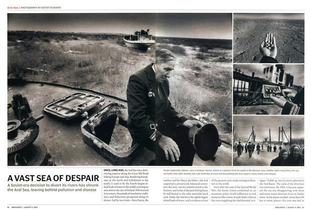 Article Preview: AVAST SEA OF DESPAIR, August 2003 | Maclean's