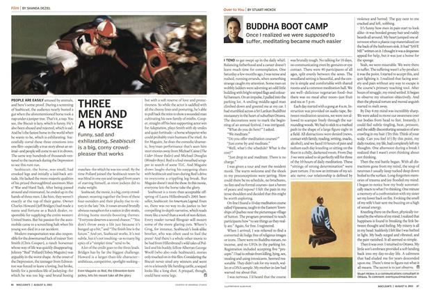 Article Preview: THREE MEN AND A HORSE, August 2003 | Maclean's