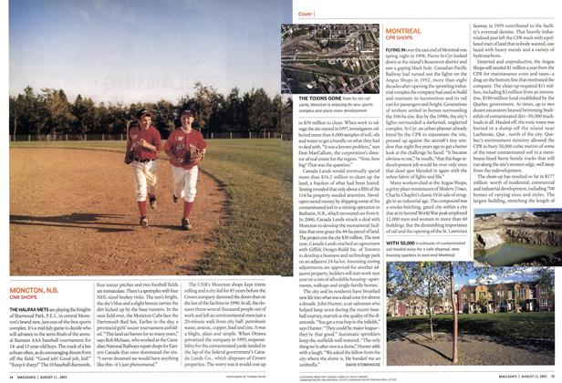 Article Preview: MONTREAL, August 2003 | Maclean's