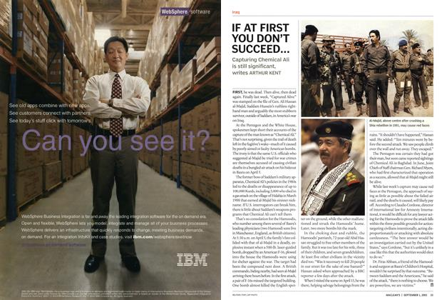 Article Preview: IF AT FIRST YOU DON'T SUCCEED..., September 2003 | Maclean's