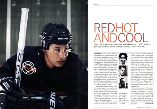 Article Preview: RED HOT AND COOL, September 2003 | Maclean's