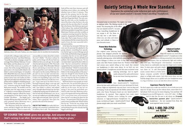 Article Preview: Advertisement, September 2003 | Maclean's
