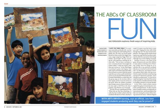 Article Preview: THE ABCs OF CLASSROOM FUN, September 2003 | Maclean's