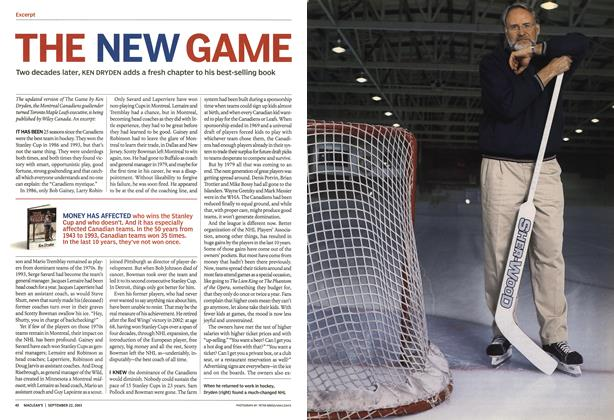 Article Preview: THE NEW GAME, September 2003 | Maclean's
