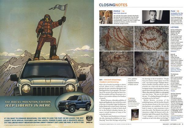 Article Preview: Art, September 2003 | Maclean's
