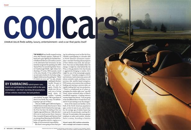 Article Preview: coolcars, September 2003 | Maclean's