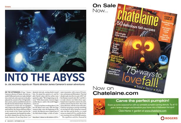 Article Preview: INTO THE ABYSS, September 2003 | Maclean's
