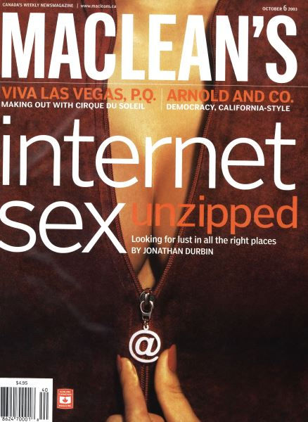 Issue: - October 2003 | Maclean's