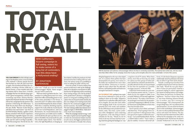 Article Preview: TOTAL RECALL, October 2003 | Maclean's