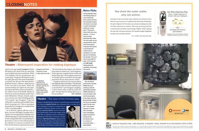 Article Preview: Retro PSAs, October 2003 | Maclean's
