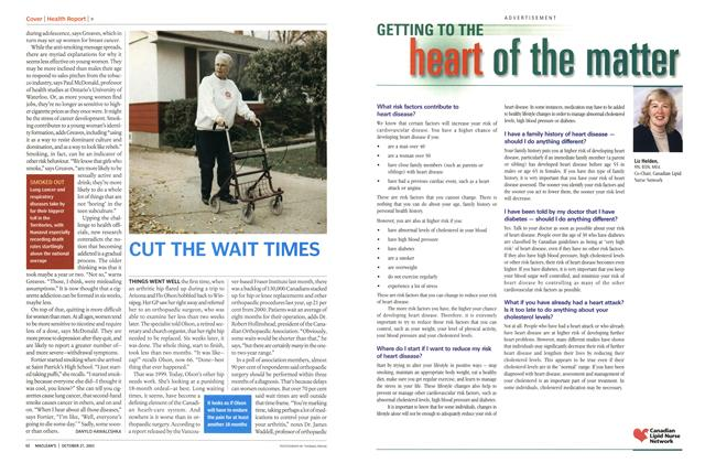 Article Preview: CUT THE WAIT TIMES, October 2003 | Maclean's