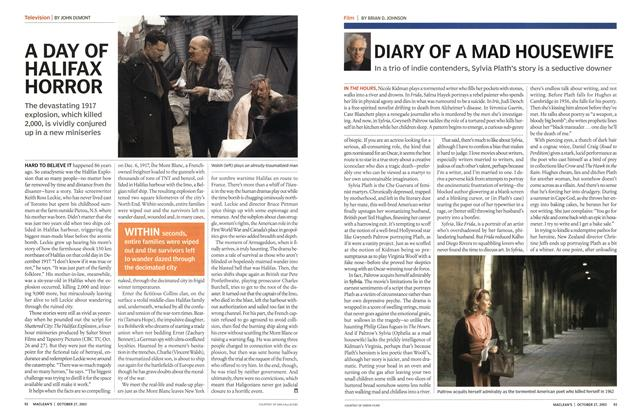 Article Preview: A DAY OF HALIFAX HORROR, October 2003 | Maclean's