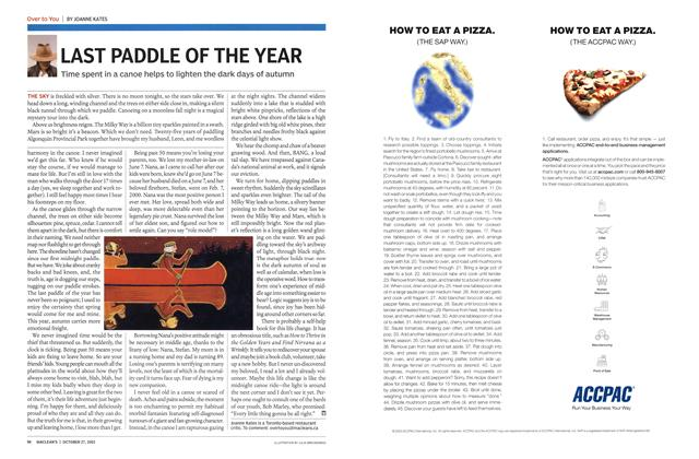 Article Preview: LAST PADDLE OF THE YEAR, October 2003 | Maclean's