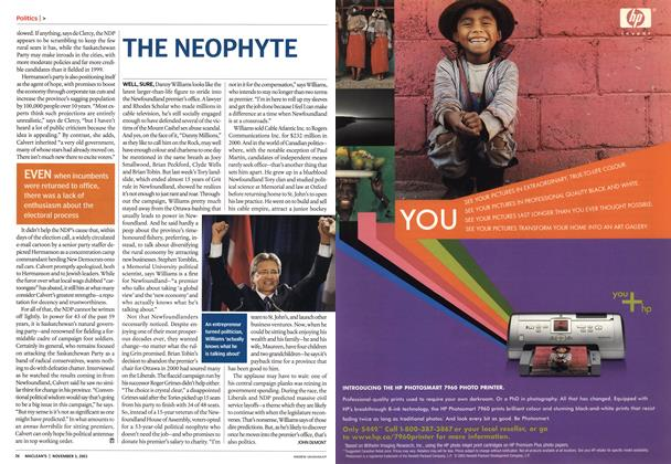 Article Preview: THE NEOPHYTE, November 2003 | Maclean's
