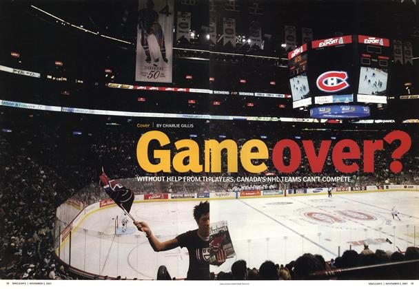 Article Preview: GAME OVER?, November 2003 | Maclean's