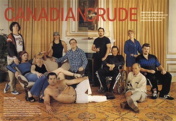 Article Preview: CANADIANCRUDE, November 2003 | Maclean's