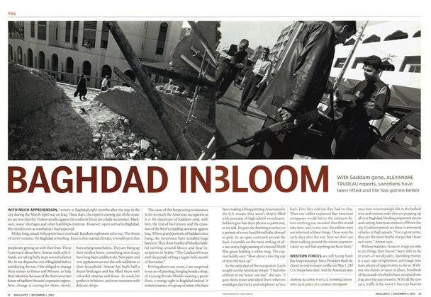 Article Preview: BAGHDAD N, December 2003 | Maclean's