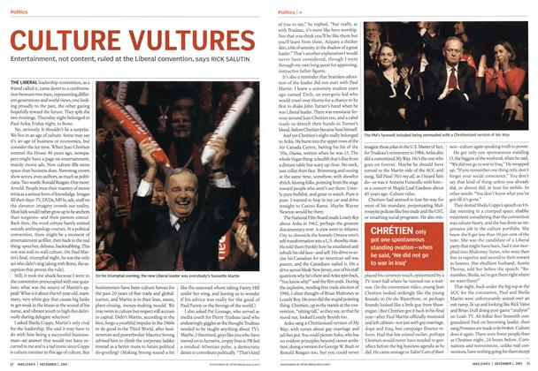 Article Preview: CULTURE VULTURES, December 2003 | Maclean's