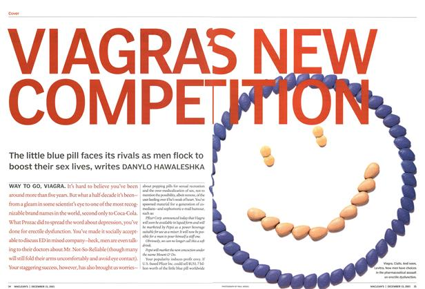 Article Preview: VIAGRA'S NEW COMPETITION, December 2003 | Maclean's