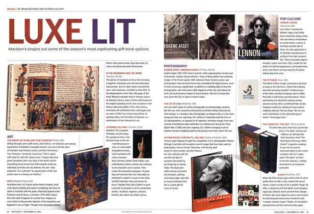 Article Preview: LUXE LIT, December 2003 | Maclean's