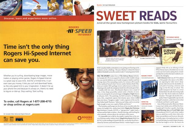 Article Preview: SWEET READS, December 2003 | Maclean's