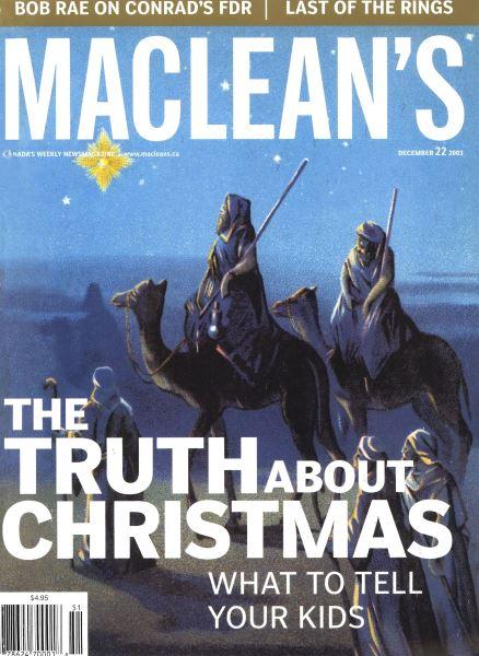 Issue: - December 2003 | Maclean's