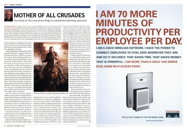 Article Preview: MOTHER OF ALL CRUSADES, December 2003 | Maclean's