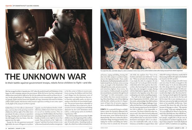 Article Preview: THE UNKNOWN WAR, January 2004 | Maclean's