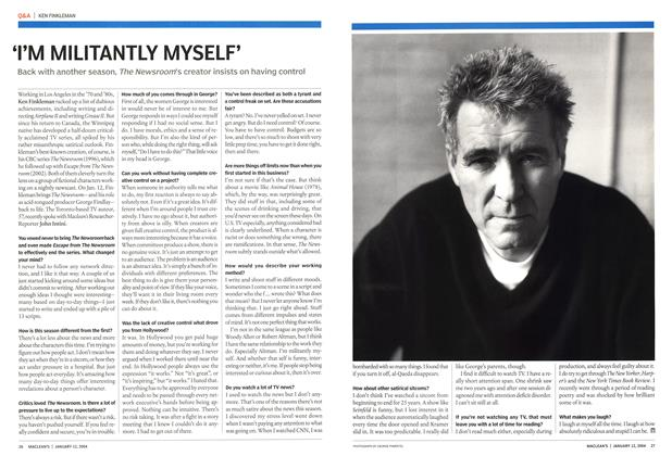 Article Preview: 'I'M MILITANTLY MYSELF', January 2004 | Maclean's