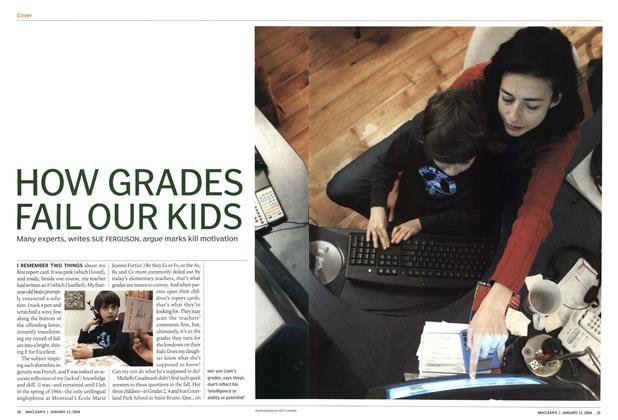 Article Preview: HOW GRADES FAIL OUR KIDS, January 2004 | Maclean's