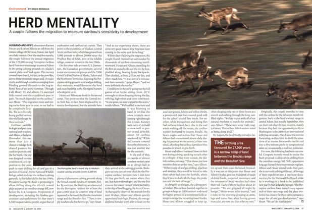 Article Preview: HERD MENTALITY, January 2004 | Maclean's