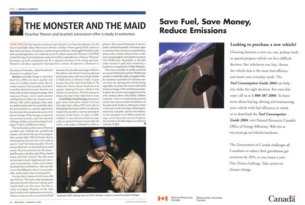 Article Preview: THE MONSTER AND THE MAID, January 2004 | Maclean's